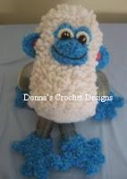 http://www.donnascrochetdesigns.com/slinky/marshmallow-monkey-free-crochet-pattern.html