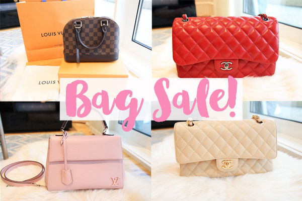 d2fa15668df2 Welcome to another blog sale! In an effort to not turn into a completely  crazy bag lady