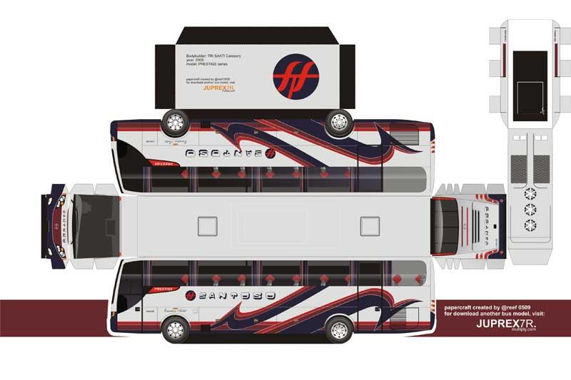 Gambar Miniatur Bus Indonesia Terbaik | Bikin Miniatur
