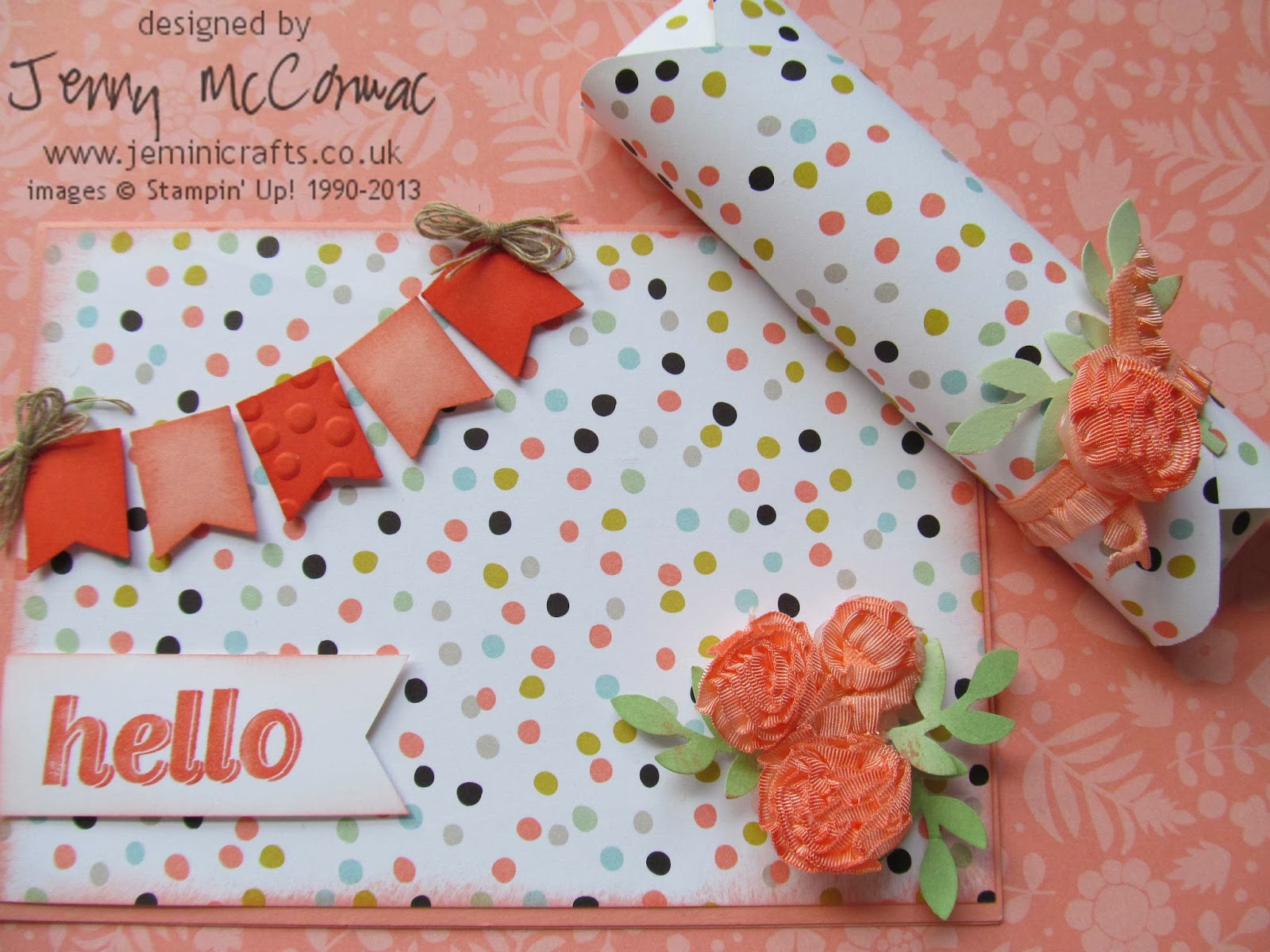 Pinkies Blog Hop Sale-A-Bration 2014 Jemini Crafts