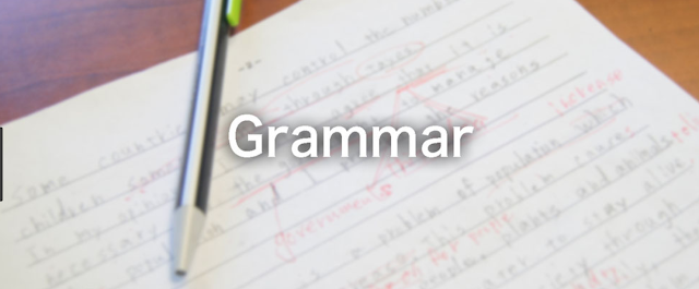 Google Grammar Checker