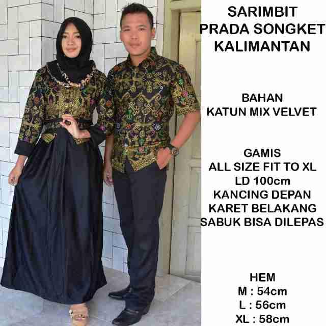 Model Baju Batik Terbaru Model Baju Batik Gamis Couple