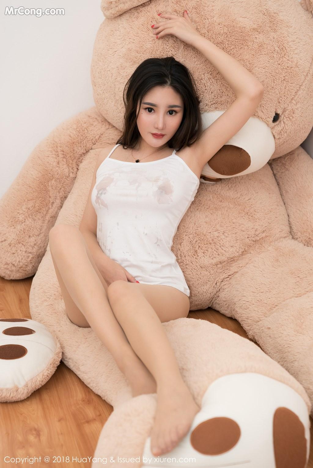 Image HuaYang-2018-03-02-Vol.034-Xiao-Tian-Xin-Candy-MrCong.com-025 in post HuaYang 2018-03-02 Vol.034: Người mẫu Xiao Tian Xin (小甜心Candy) (41 ảnh)