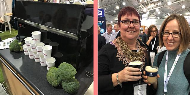 brokoli sağlıklı kahve yapımı, brokoli kahve hazırlama, ev yapımı latte, KahveKafe