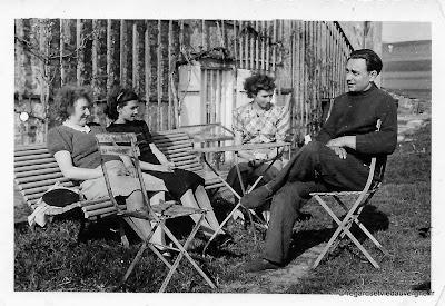 Photos de famille noir et blanc