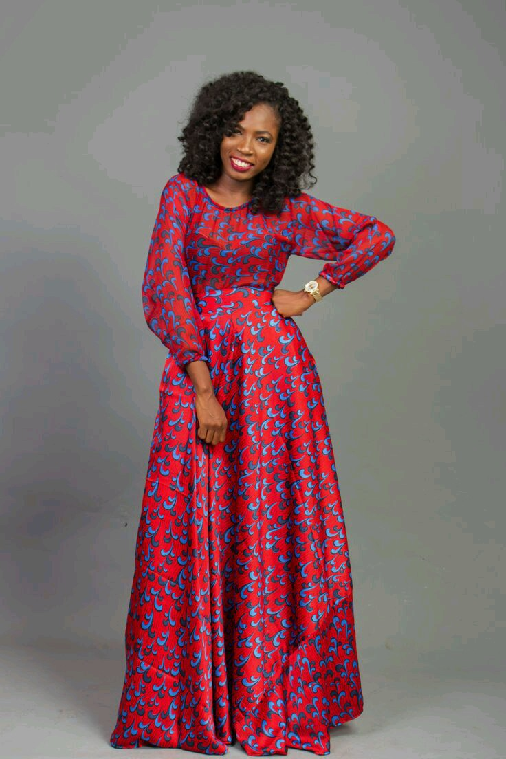 SEE THESE MAXI ANKARA STYLE DRESSES see these maxi ankara style dresses -   Od9ja Styles 869672f9a