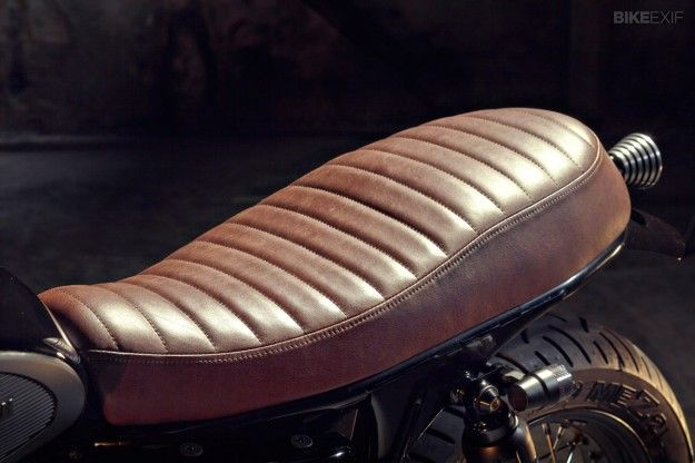 Các loại yên xe môtô độ theo nhiều phong cách
