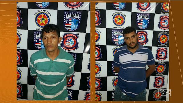Quatro homens suspeitos de cometerem crimes são presos no Maranhão