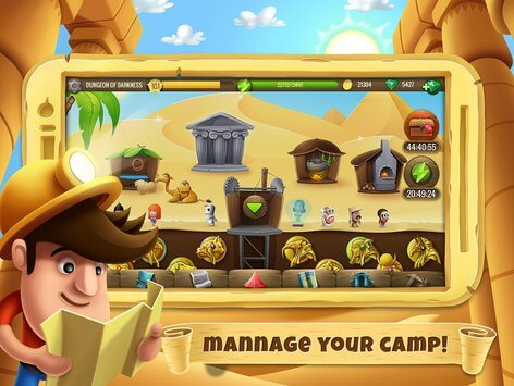 diggy's adventure apk image