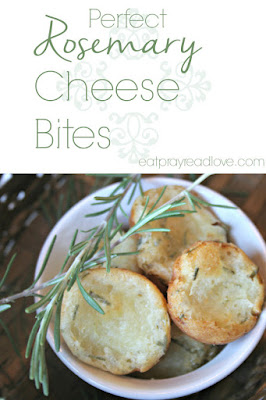 Rosemary Cheese bites, shared by Eat, Pray, Read, Love