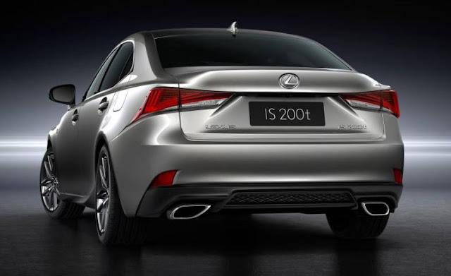 2017 Lexus IS200t F Sport