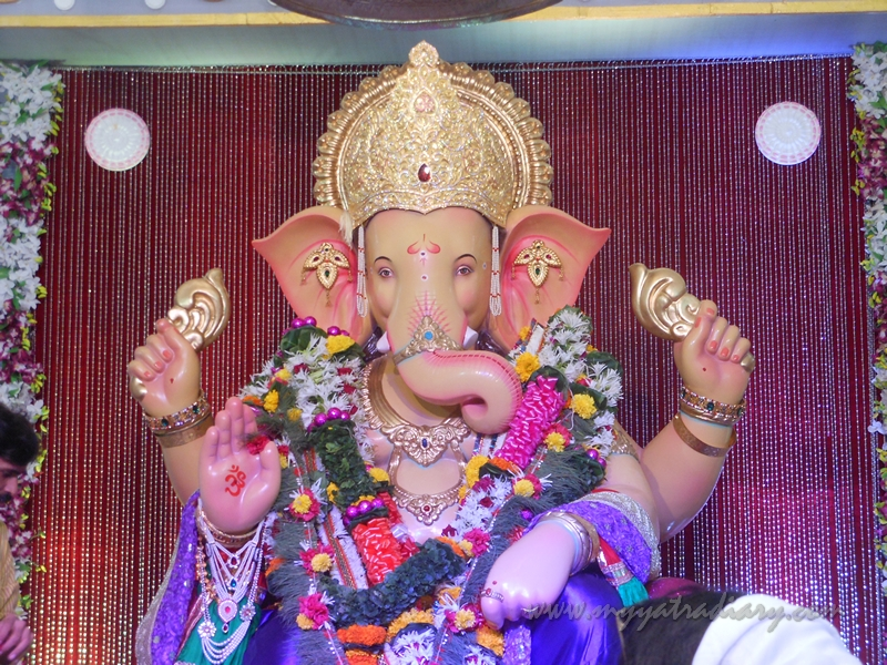 Up close and personal Andhericha Raja Ganesha pandal, Mumbai