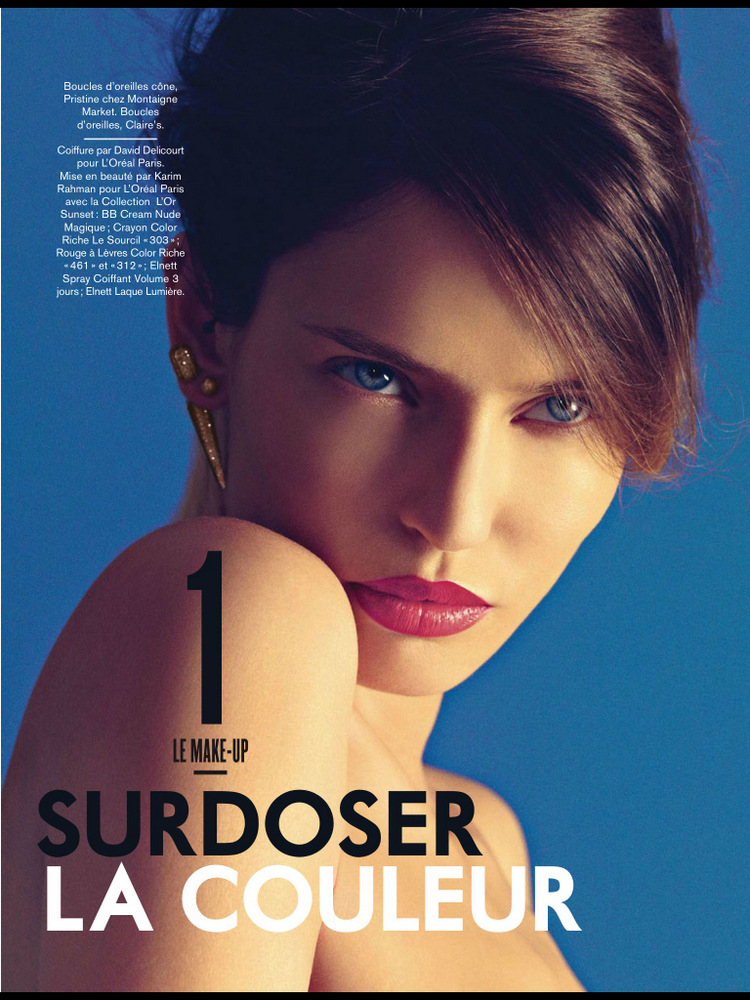 May 2013 Fashion Magazine Covers: Smartologie: Bianca Balti For Glamour France May 2013