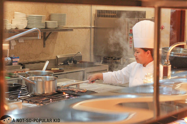 Chef in Spectrum, Fairmont - Makati