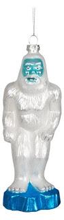 Yeti Glass Holiday Ornament