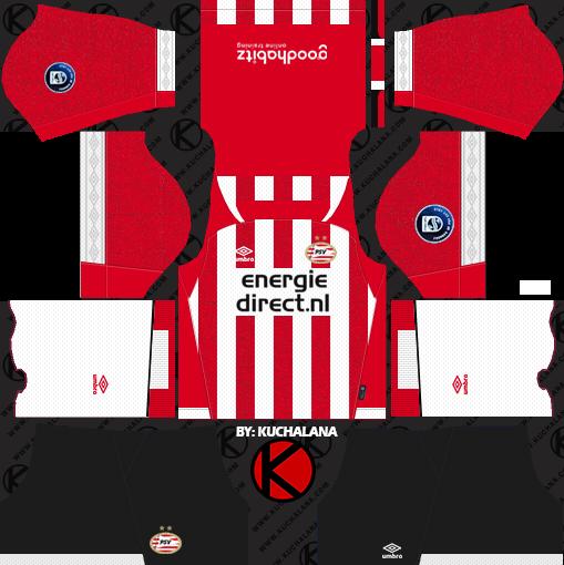 PSV Eindhoven 2018 19 Kit - Dream League Soccer Kits - Kuchalana 797a181a7