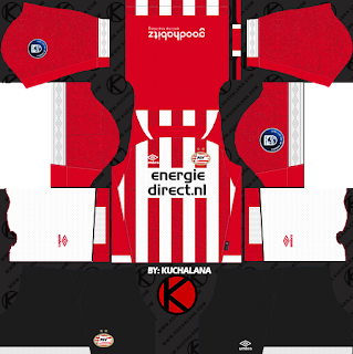 PSV Eindhoven 2018/19 Kit - Dream League Soccer Kits