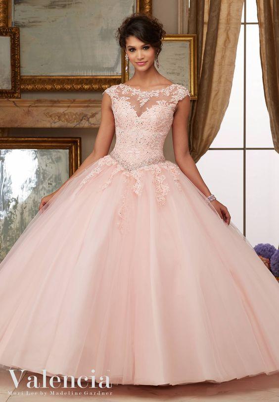 Vestidos de 15 años corte princesa