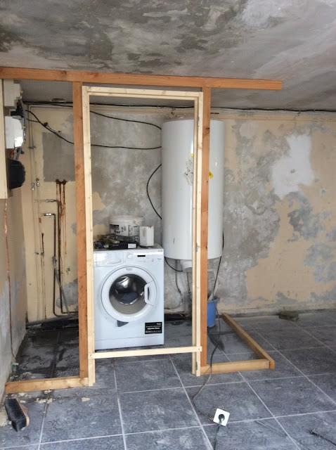 Renovation project - How to build a utility room