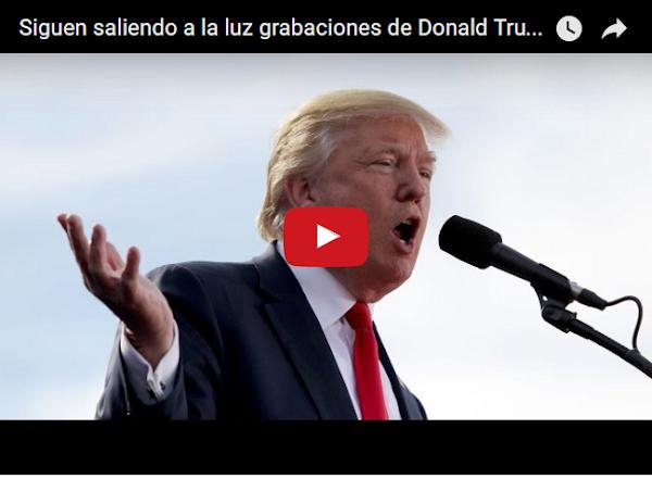Nuevos escándalos de Donald Trump salen a la luz