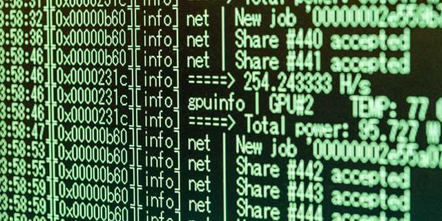 ぱくらそ:暗号通貨マイニング