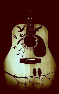 рисунки на гитаре