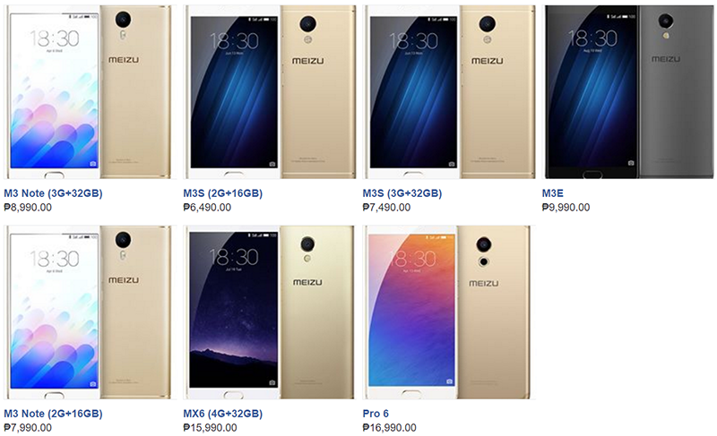 Meizu Outs The Official Price List Of Their Initial Smartphones In The Philippines