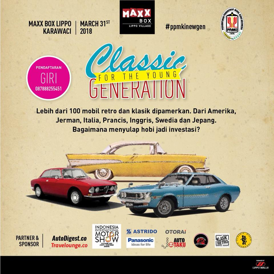 PPMKI DKIs EVENT Classic For Young Generation 2018 LAPAK MOBIL