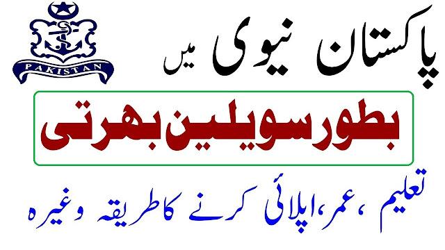 Pak Navy Civilian Jobs 2021 Latest Advertisement