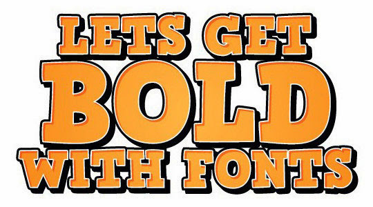 Creating Bold Text that Stands out