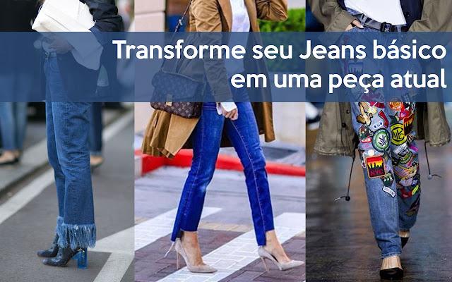 Customização de Jeans