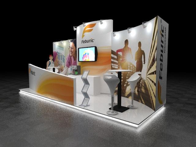 Desain Booth Pameran Feburic