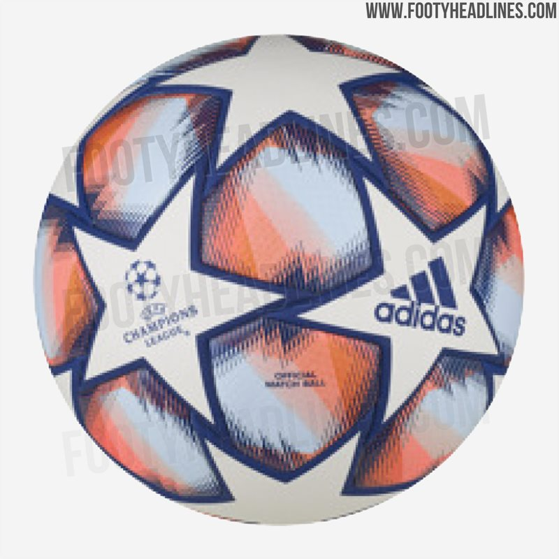 Champions League Group Stage 2020: Adidas 20-21 UEFA Champions League Ball Leaked