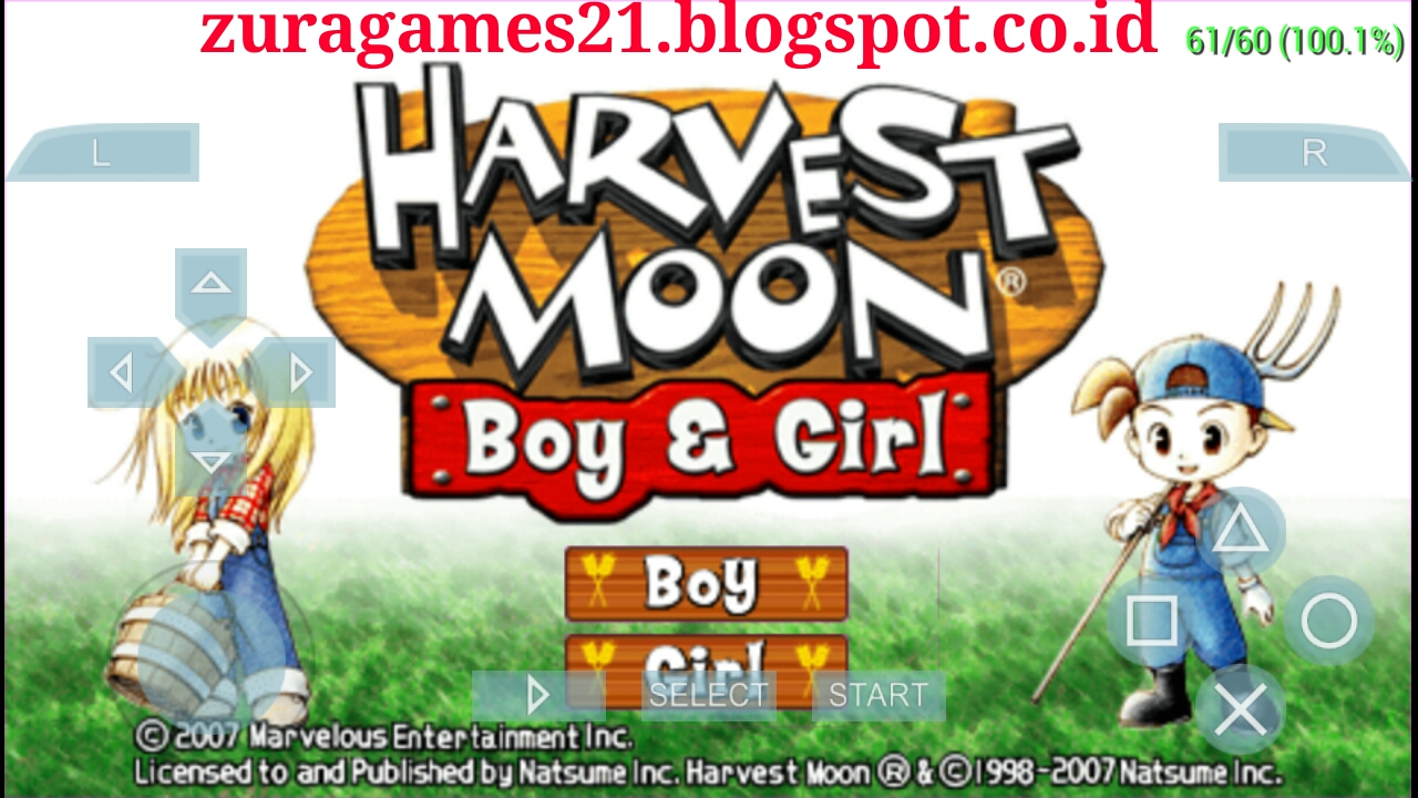 Harvest moon boy and girl pc game free download