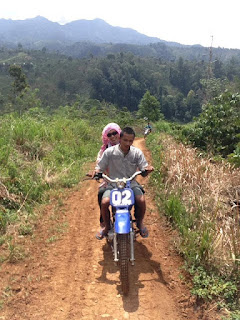 Air Terjun Putri Malu Juku Batu Banjit Way Kanan Lampung