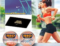 Logo Rio Mare nutre con sport con 77 Gift Card Nike da 200€