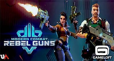 Modern Combat: Rebel Guns Apk + OBB Download