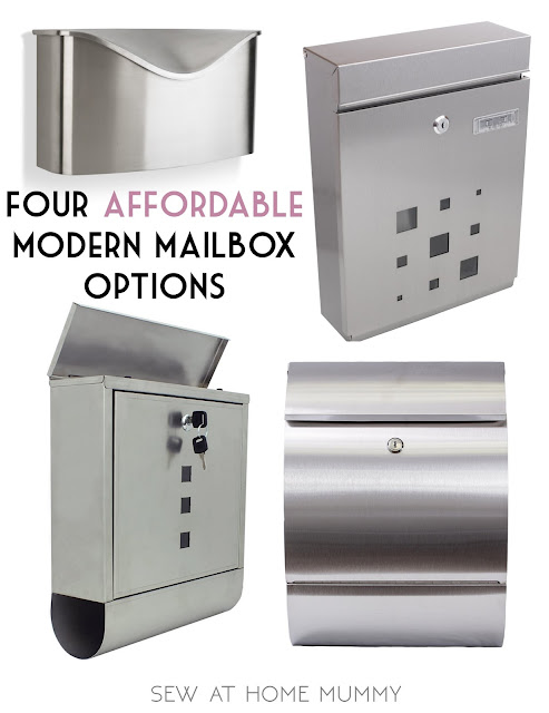 four affordable modern mid century stainless steel mailbox options