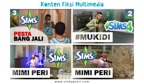 Konten Fiksi Multimedia
