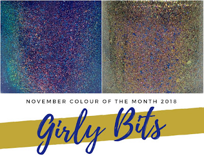 girly bits cosmetics november 2018 colour of the month