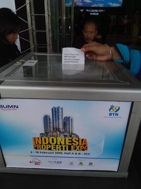 Pameran properti IPEX 2019 tiket masuk gratis