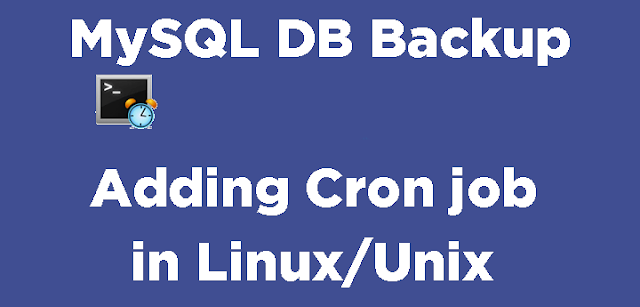 Taking-MySQL-Database-backup-in-Linux-using-Cron