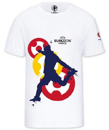 camiseta fútbol diseñada Eurocopa España Lidl