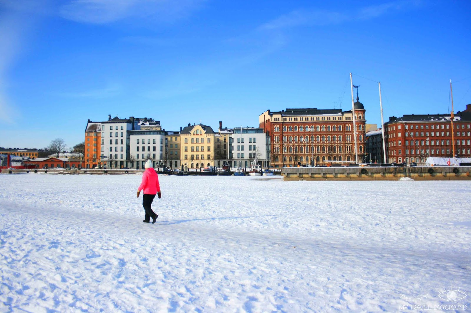 My Travel Background : carte postale de Finlande - Helsinki
