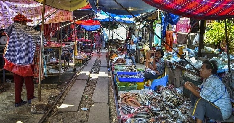 Buying Groceries in Penang
