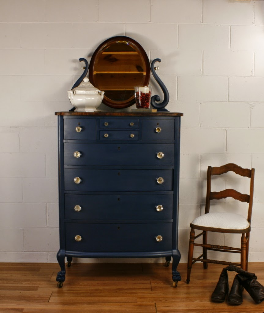 Roots and Wings Furniture Blog No 105 Antique Navy Blue