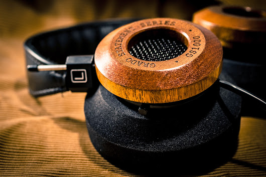 The Sound Apprentice: First Listen: Grado Statement Series GS1000i Headphones Review