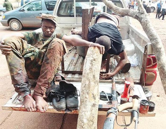 Armed robber shot dead by policemen in Enugu