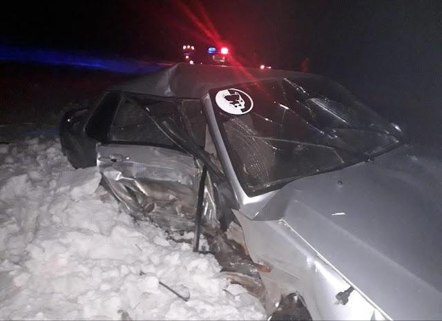 В Дуванском районе столкнулись Mitsubishi Lancer и ВАЗ-2115: есть пострадавшие