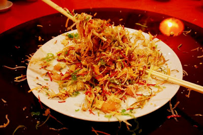 Yee Sang, yusheng, lo hei, prosperity toss, Jimmy Low, Waterfront Cebu City Hotel and Casino, Tin Gow, Tin Gow Palace, Chinese Restaurant in Cebu, Cebu Food Blog, Cebu Best Restaurtants